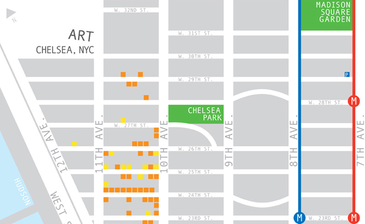 Chelsea Art Map – Ankatank Design // ART, DESIGN, & STUFF on